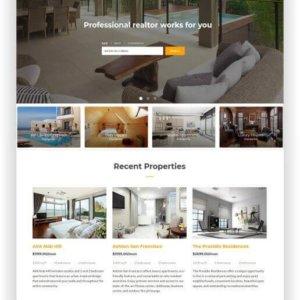 HTML Real Estate Theme