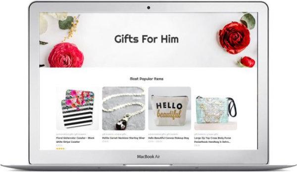 WooCommerce Gifts Shop Theme