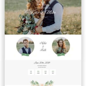 WordPress Wedding Topic