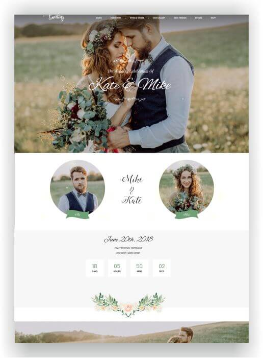 WordPress Wedding Topic